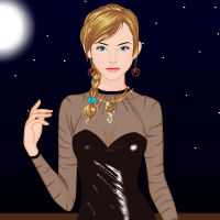 Free online flash games - Trendy Leather Outfits game - Games2Dress