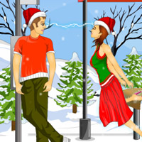 Free online flash games - Bus Stop Kisses game - Games2Dress