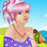 Free online flash games - Easter Beauty Makeover game - Games2Dress