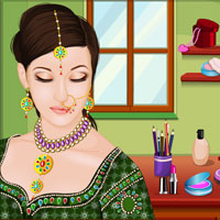 Indian Wedding Makeup game - Play and Download free online flash games - at Games2dress - The G2R Kingdom