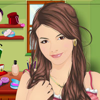 Free online flash games - Victoria Justice Beauty Beat game - Games2Dress