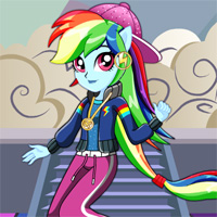 Free online flash games - Dance Magic Rainbow Dash Starsue game - Games2Dress