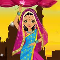Free online flash games - Indian Fashion game - Games2Dress