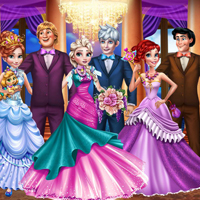 Free online flash games - Princesses Royal Ball game - Games2Dress
