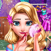 Free online flash games - Eliza Prom Makeup game - Games2Dress