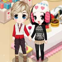 Free online flash games - Love Party game - Games2Dress