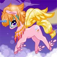 Free online flash games - Unicorn Fantasy game - Games2Dress