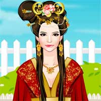 Free online flash games - Chinese Peony Princess game - Games2Dress