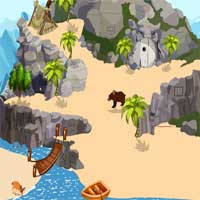 Free online flash games - Games2Jolly Gorilla Rescue from Cave game - Games2Dress