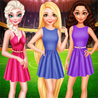 BFF Princess Vote For Football 2018 Girl 7sGames