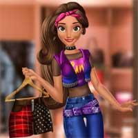 Free online flash games - Punk Princess Garderobe game - Games2Dress