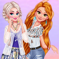 Princesses Summer Waves