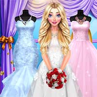 Free online flash games - Blondie Wedding Prep DariaGames game - Games2Dress