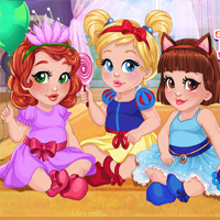 Free online flash games - Baby Girls Dress Up Fun game - Games2Dress