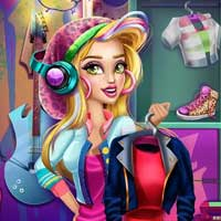 Free online flash games - Gwens Holiday Closet GirlG game - Games2Dress