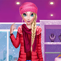 Free online flash games - Mommy Elsie Winter Day game - Games2Dress