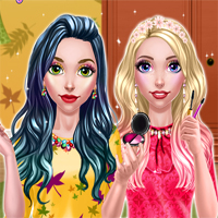Free online flash games - BFF Autumn Makeup game - Games2Dress