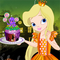 Free online flash games - Halloween Cupcake Chef game - Games2Dress