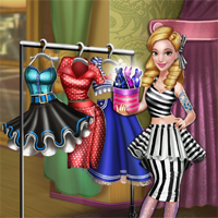 Free online flash games - Dove Pinup Dolly Dress Up game - Games2Dress