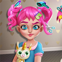 Free online flash games - Moody Ally Real Haircuts Girlsplay game - Games2Dress