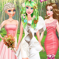Free online flash games - Princess Unique Wedding Planner DressupMix game - Games2Dress