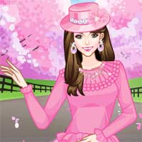Free online flash games - Cherry Blossoms game - Games2Dress