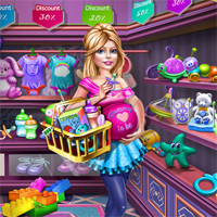 Free online flash games - Ellie Goes Shopping SiSiGames game - Games2Dress