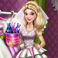 Free online flash games - Dove Wedding Dolly game - Games2Dress