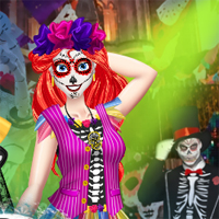 Free online flash games - BFFs Day Of The Dead Dressupwho game - Games2Dress