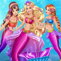 Free online flash games - Princess Mermaid Coronation AgnesGames game - Games2Dress