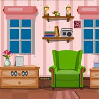 Free online flash games - KnfGame Guest House Escape game - Games2Dress