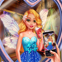 Free online flash games - Fairy Insta Selfie game - Games2Dress