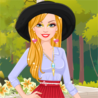 Free online flash games - Ellie Loves Pleated Skirts Capy game - Games2Dress