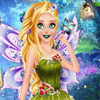 Free online flash games - Ellie Fairy Of The Woods game - Games2Dress