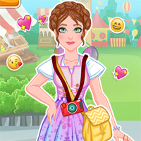 Free online flash games - Around The World German Fashion game - Games2Dress