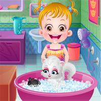 Free online flash games - Baby Hazel Naughty Cat game - Games2Dress
