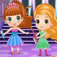 Free online flash games - Chibi Princesses Rock N Royals Style game - Games2Dress