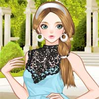 Free online flash games - Hint of Mint Anime game - Games2Dress