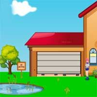 Free online flash games - Games2Jolly Escape The Car From Shed 2 game - Games2Dress