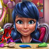 Free online flash games - Ladybug Glittery Makeup SisiGames game - Games2Dress