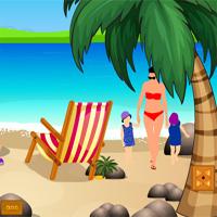 Free online flash games - ZooZoo Escape Beach Fun Zone game - Games2Dress