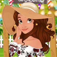 Free online flash games - Moanas Garden Party EGirlGames game - Games2Dress