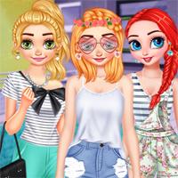 Free online flash games - Princesses Style Wishlist game - Games2Dress