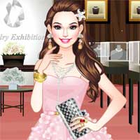 Free online flash games - Jewelry Exhibition game - Games2Dress