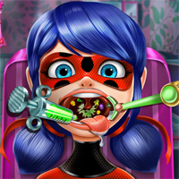 Free online flash games - Dotted Girl Throat Doctor game - Games2Dress