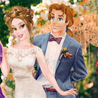Free online flash games - Princesses Double Boho Wedding game - Games2Dress