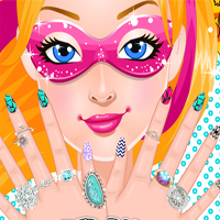 Free online flash games - Super Barbie Super Nails game - Games2Dress