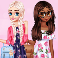 Free online flash games - Princesses Best Story Contest game - Games2Dress