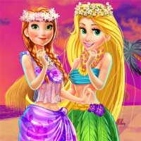 Free online flash games - Disney Princesses Hawaii Shopping game - Games2Dress