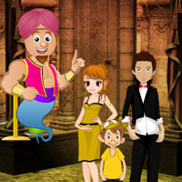 Free online flash games - Genie World Escape game - Games2Dress